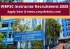 WBPSC Instructor Recruitment