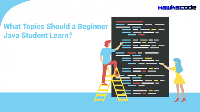 What Topics Should a Beginner Java Student Learn