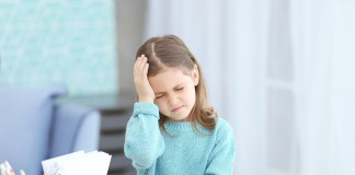 headache among kids