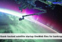 Softbank backed satellite