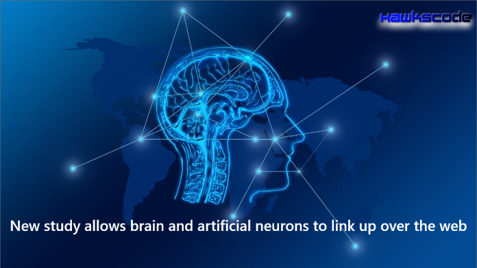 the brain and artificial neurons to link up over the web