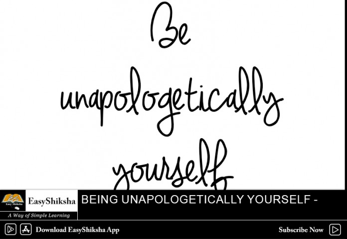 Being Unapologetically Yourself