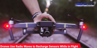 Drones Use Radio Waves to Recharge Sensors While in Flight
