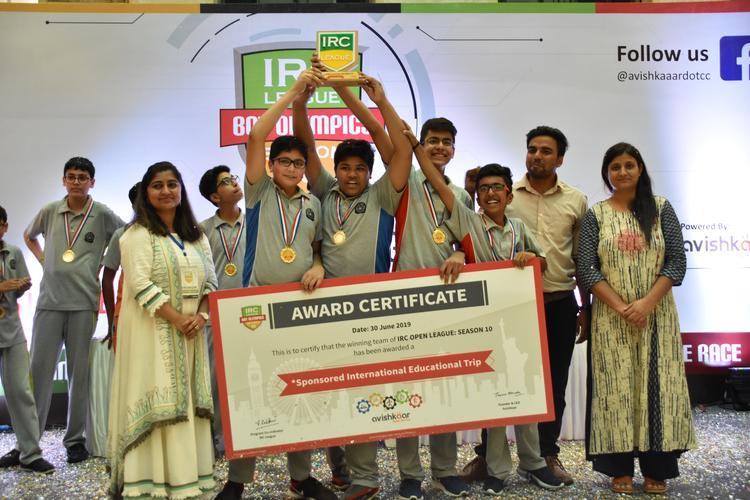 Team 'Part Time Tech Einsteins' wins Asia's Biggest Robotics